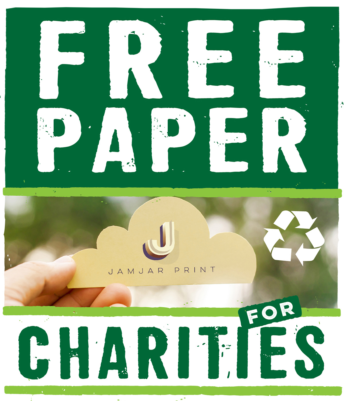 Free paper for charities