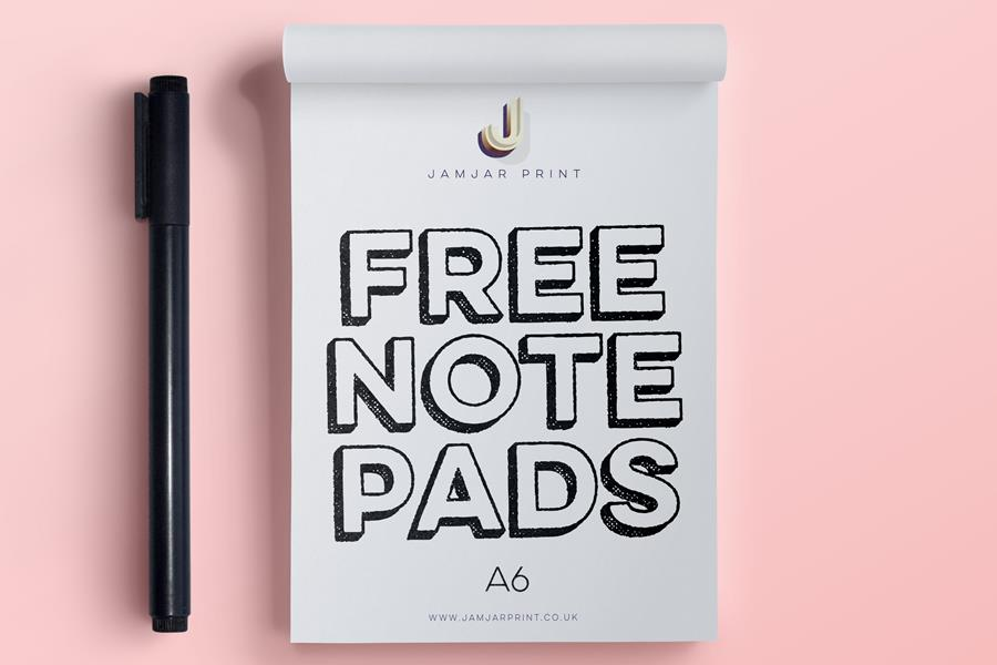 Free A6 Notepads With All Stationery Orders This May!