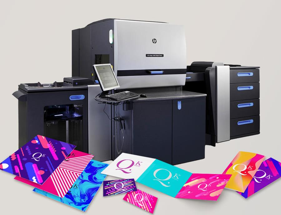 Introducing Our New Indigo 7 Colour Press
