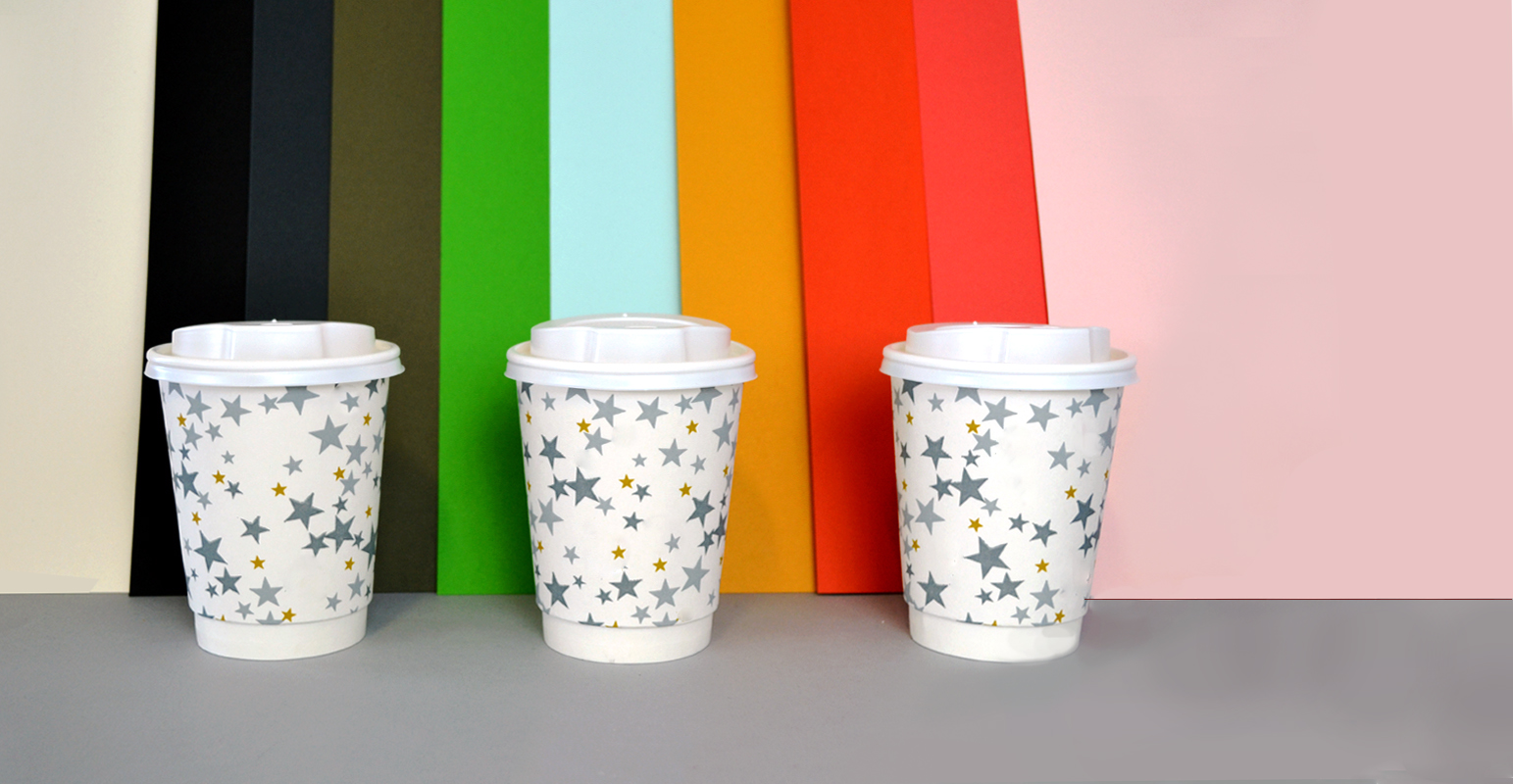 Introducing - Paper Made From Recycled Coffee Cups!
