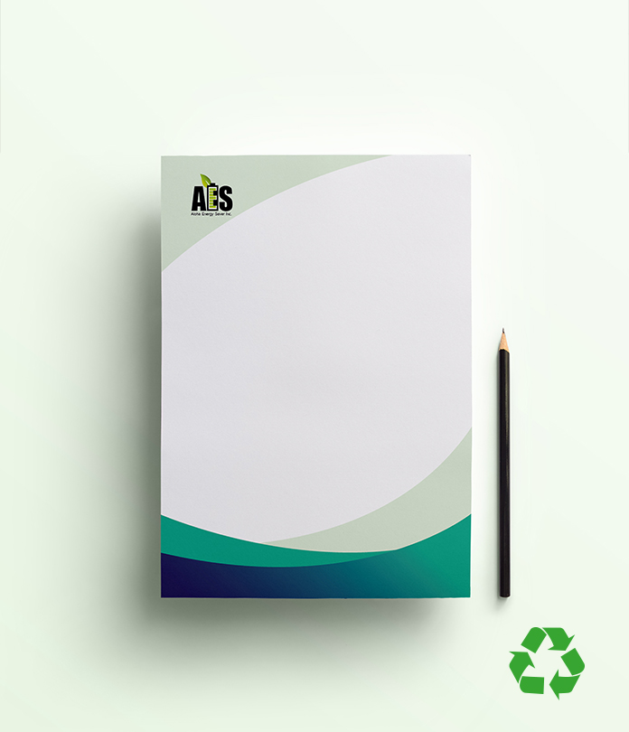 Eco friendly range jamjar print recycled letterhead compliment slip packages reheart Choice Image