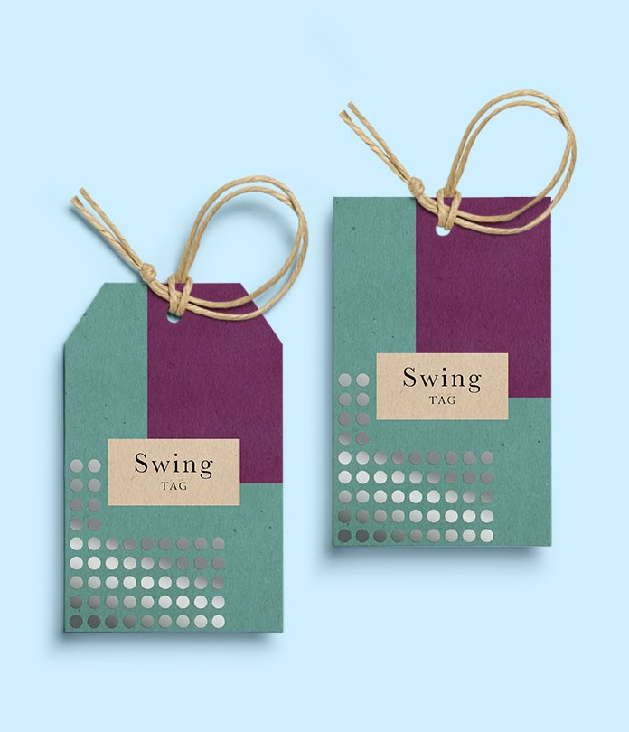Swing Tags (280gsm Brown Eco Kraft)