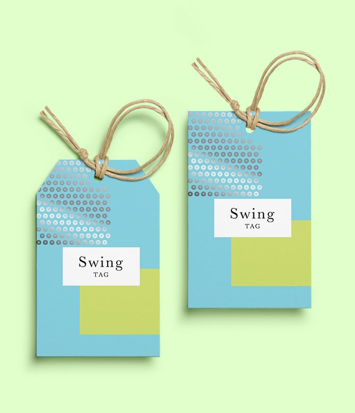 Swing Tags (600gsm Matt Lam)