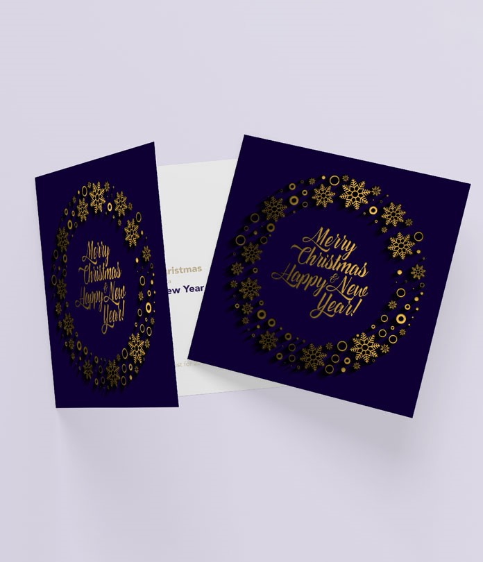 Scodix Foil Greeting Cards