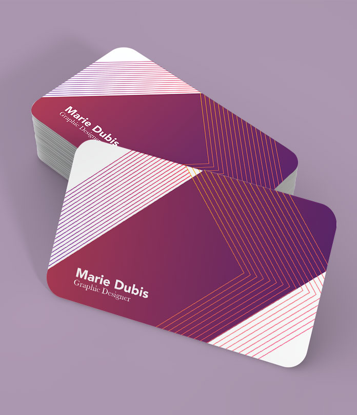 400gsm shaped deluxe business cards jamjar print 400gsm shaped matt laminated business cards colourmoves Image collections