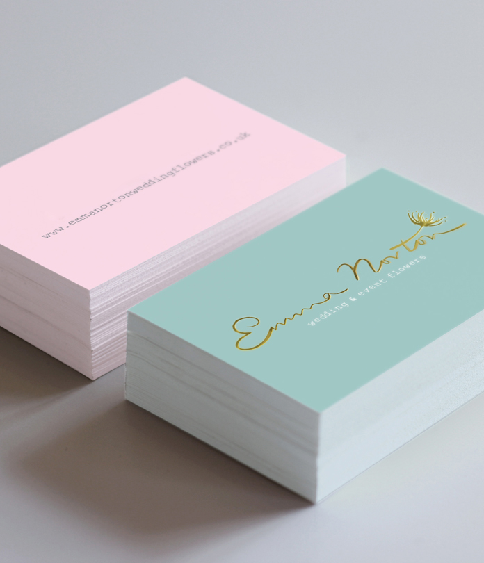 Business card printing jamjar print 400gsm foiled matt laminated business cards reheart Images
